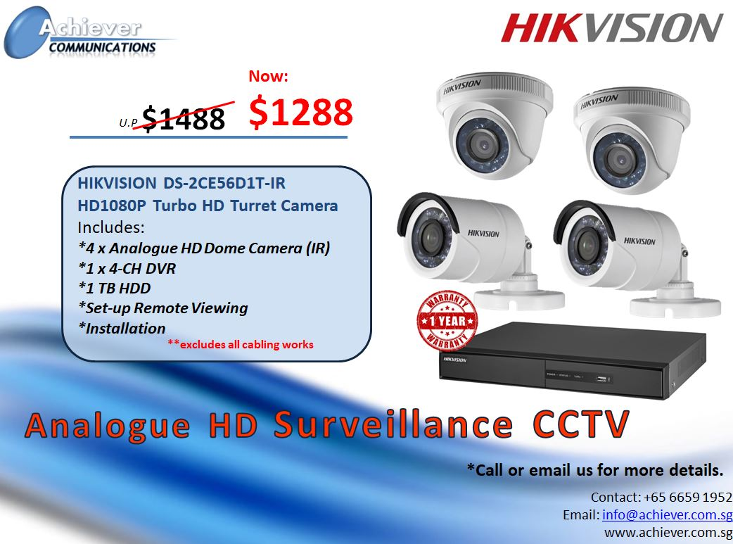 Analog HD CCTV Promo