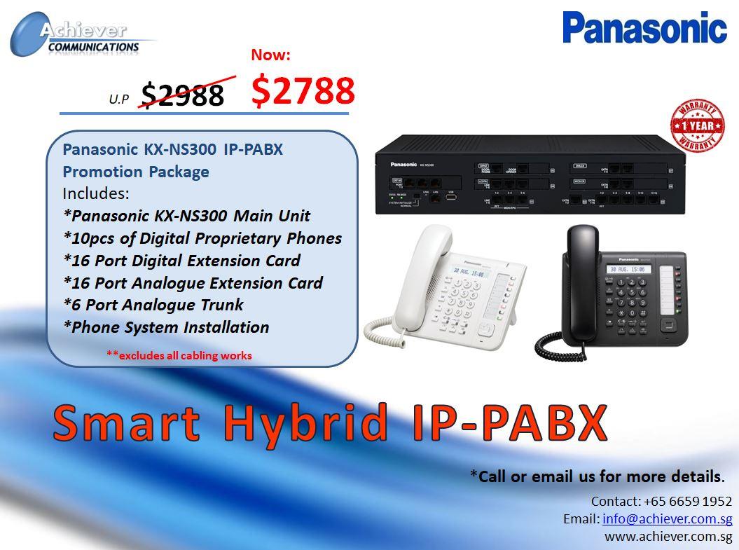 Smart Hybrid IP-PABX Promo 1