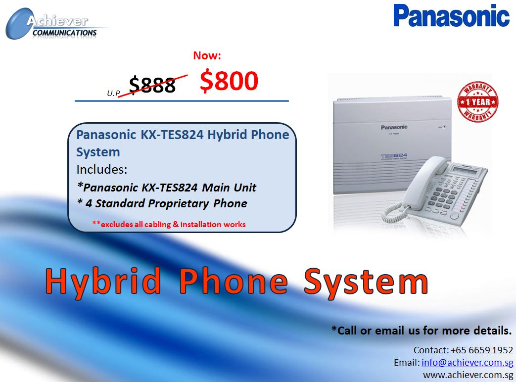 Advanced Hybrid Phone Promo