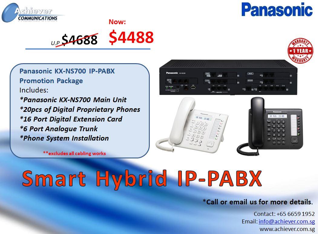 Smart Hybrid IP-PABX Promo 2