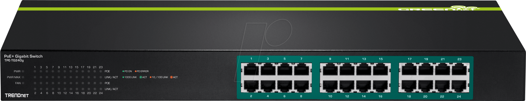 TrendNET TPE-TG240g PoE Switch
